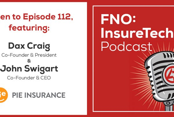 Pie co-founders join FNO: InsureTech Podcast